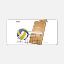 Volleyball - Sports Aluminum License Plate