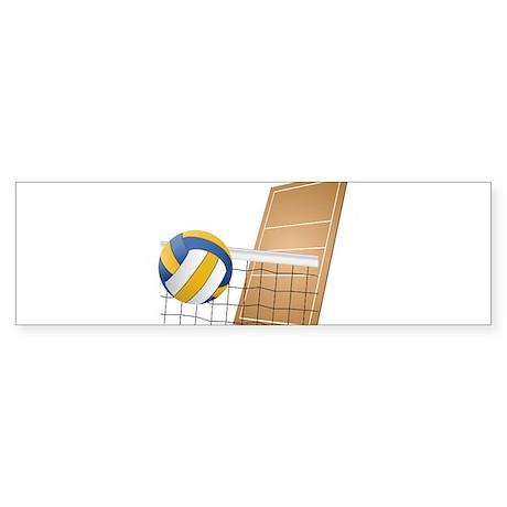 Volleyball - Sports Bumper Sticker