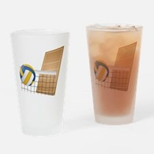 Volleyball - Sports Drinking Glass
