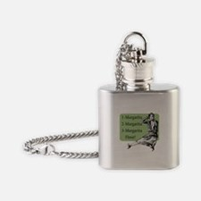 Retro Margarita Mama - Flask Necklace