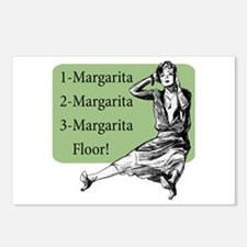 Retro Margarita Mama - Postcards (Package of 8)