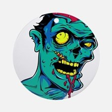 Zombie - Horror Ornament (Round)