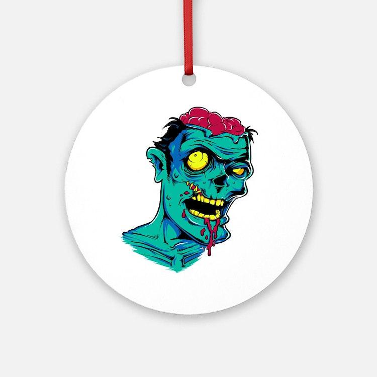 Zombie - Horror Ornament (Round)