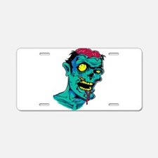 Zombie - Horror Aluminum License Plate