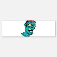 Zombie - Horror Bumper Bumper Bumper Sticker