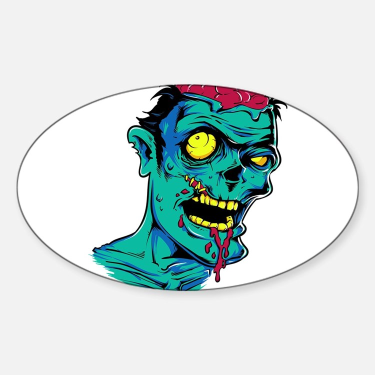 Zombie - Horror Decal