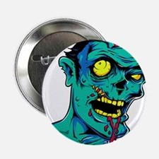 """Zombie - Horror 2.25"""" Button (10 pack)"""