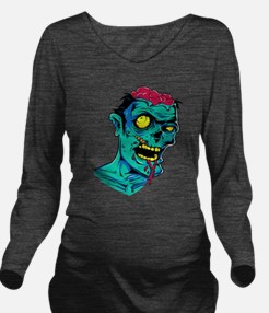 Zombie - Horror Long Sleeve Maternity T-Shirt