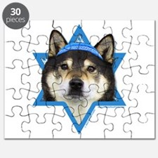 Hanukkah Star of David - Shiba Inu Puzzle