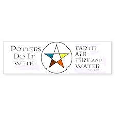 Potters Do It - Bumper Bumper Sticker