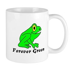 The Eco-Frog Forever Green Mugs