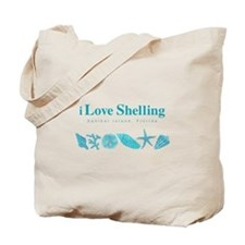 I Love Shelling Every Day Tote Bag