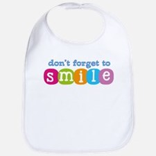Don't forget to smile Bib