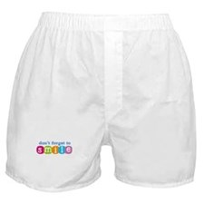 Don't forget to smile Boxer Shorts