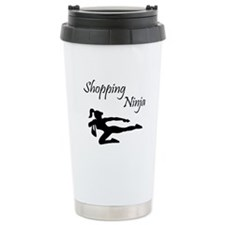 Shopping Ninja Travel Mug