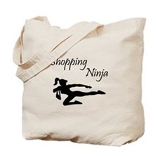 Shopping Ninja Tote Bag