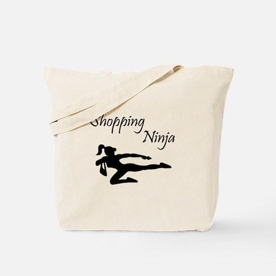Shopping Ninja Tote Bag