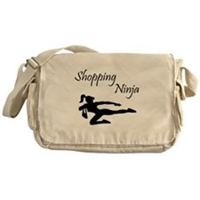 Shopping Ninja Messenger Bag
