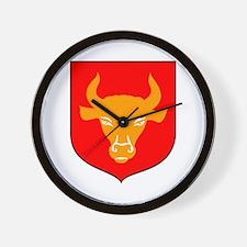 Zambrow Crest Wall Clock