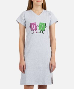 Chemistry Friends U and I Women's Nightshirt