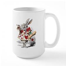 White Rabbit Mug(authentic colors on white)