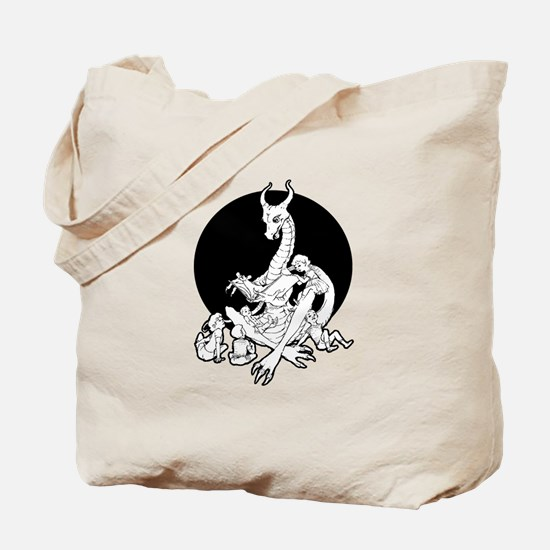 Dragon Storyteller Tote Bag