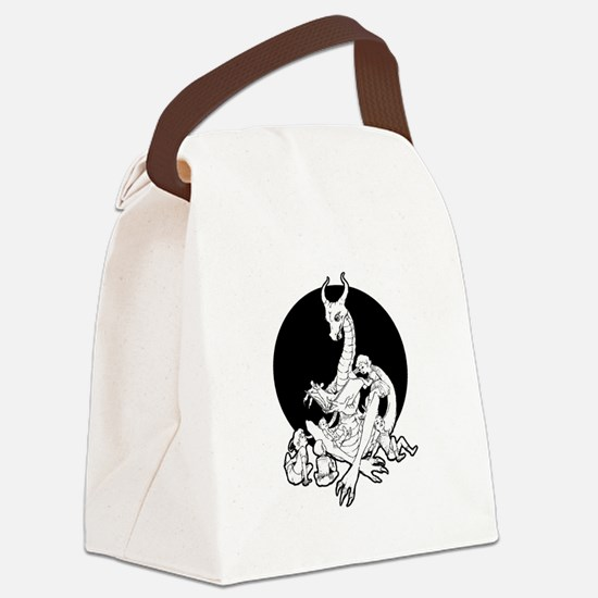 Dragon Storyteller Canvas Lunch Bag