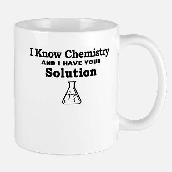 Chemistry Solution Mugs