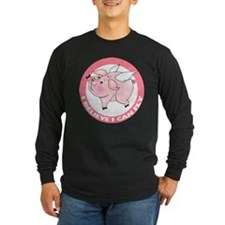 Inspirational Flying Pig T