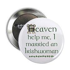 """I Married An Irishwoman 2.25"""" Buttons (10 pack)"""