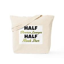 Half Divorce Lawyer Half Rock Star Tote Bag