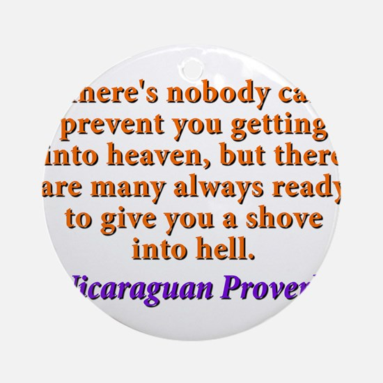 Theres Nobody Can Prevent You - Nicaraguan Round O