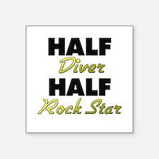 Half Diver Half Rock Star Sticker