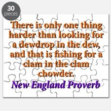 There Is Only One Thing Harder - New England Puzzl