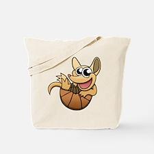 Cartoon Armadillo Tote Bag
