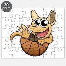 Cartoon Armadillo Puzzle
