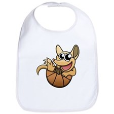 Cartoon Armadillo Bib