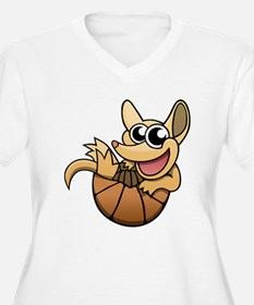 Cartoon Armadillo Plus Size T-Shirt