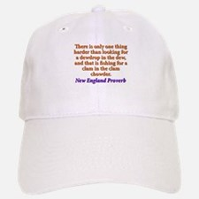 There Is Only One Thing Harder - New England Baseball Baseball Cap