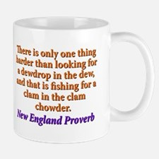 There Is Only One Thing Harder - New England Mug