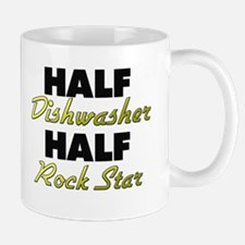 Half Dishwasher Half Rock Star Mugs