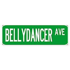 Roadsign Bellydancer Bumper Stickers