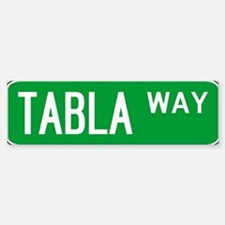 Roadsign Tabla Bumper Stickers