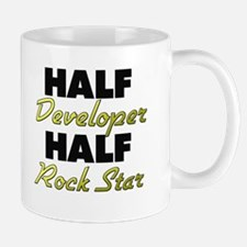 Half Developer Half Rock Star Mugs