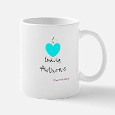 I heart Indie Authors Mug
