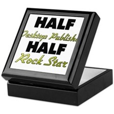 Half Desktop Publisher Half Rock Star Keepsake Box