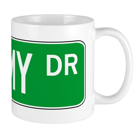 Roadsign Shimmy Mug
