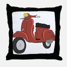 Vespa Super Sport Throw Pillow