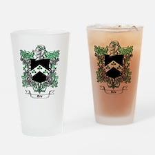 Davis Family Crest 1 Drinking Glass