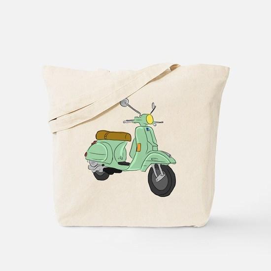 Vespa PX Sketch Tote Bag